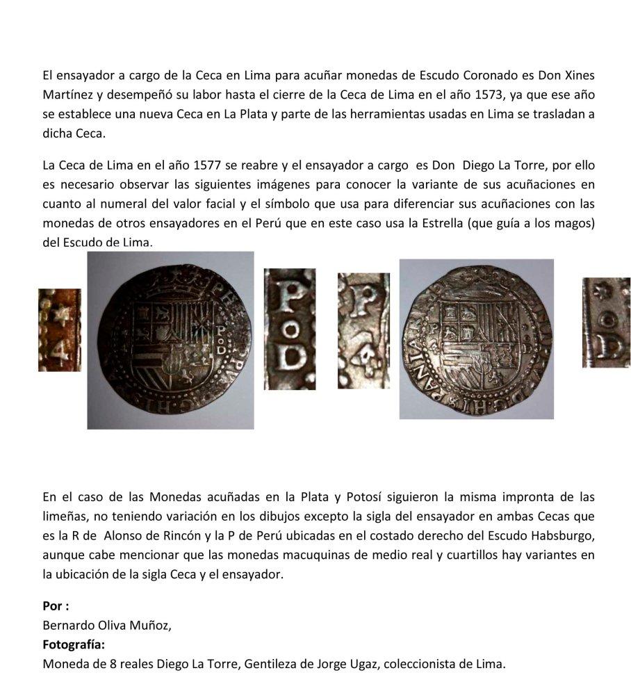 Diferencia Moneda escudo coronado lima mexico-4