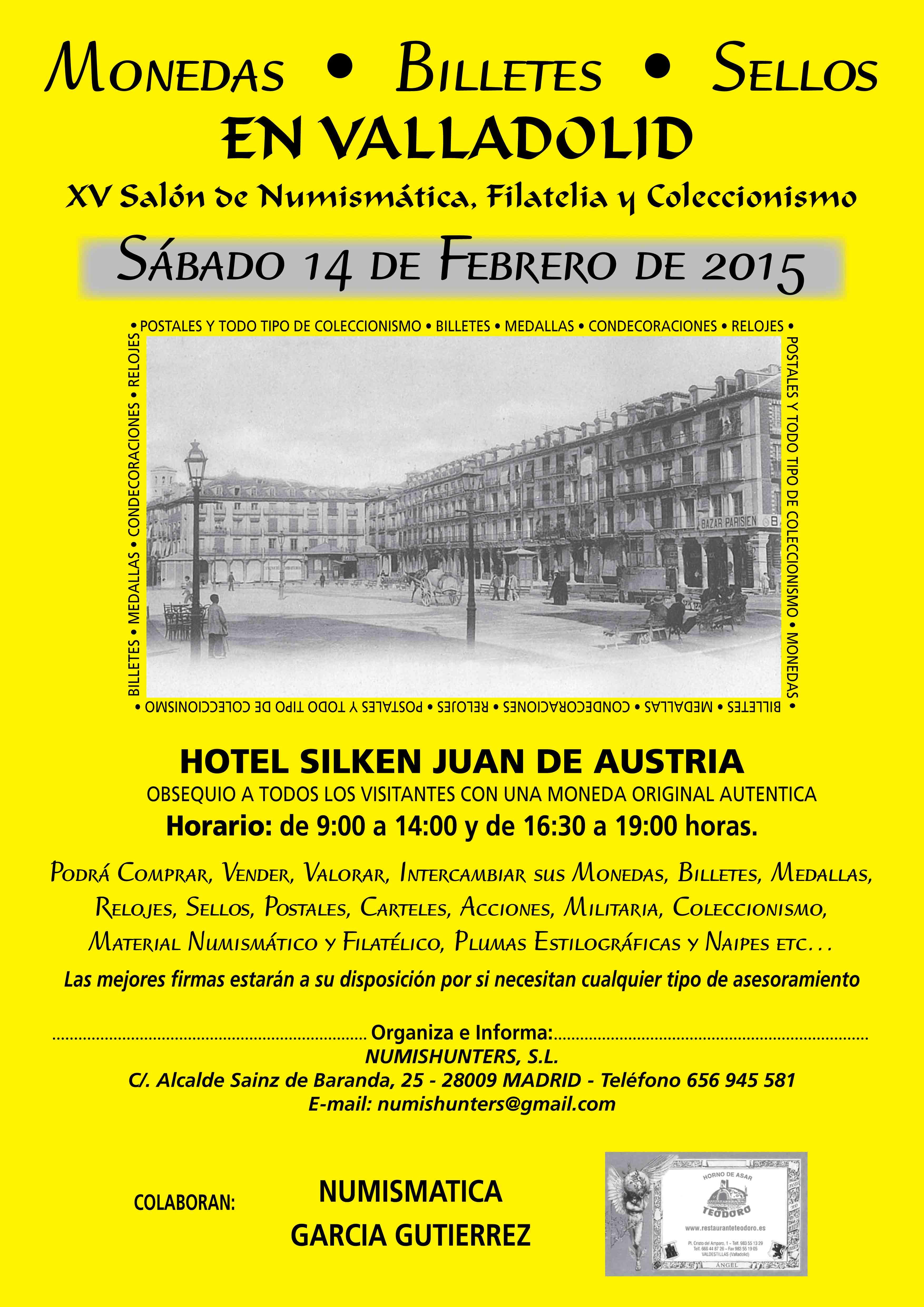 Convención Valladolid Sábado 14 de Febrero Valladolid-nc2ba-15-2015