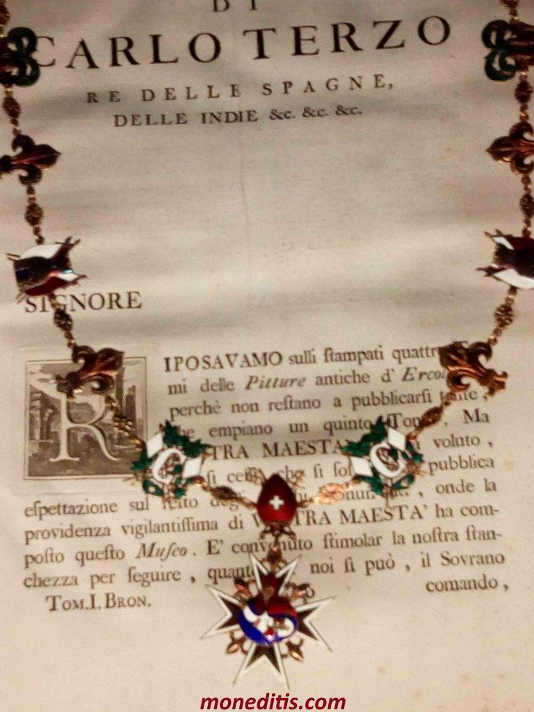 Orden de Carlos III en el Museo de la Casa de la Moneda de Madrid 1