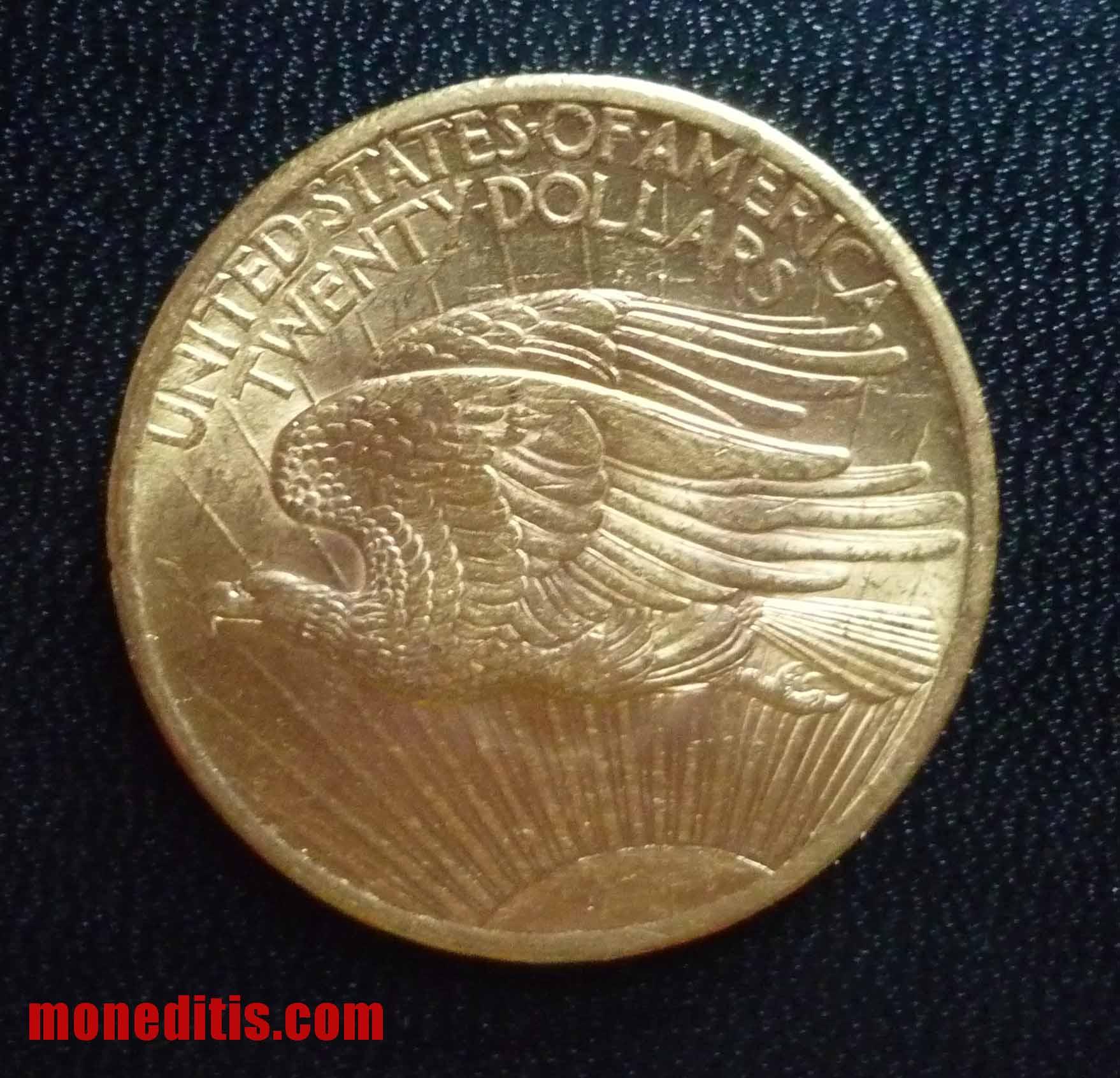 1907 20 $ double eagle St. Gaudens 23